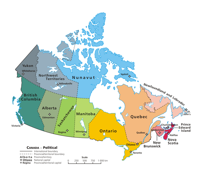 Canada Sends Soldiers To US Border As Refugees Keep Arriving - Map Of Us Northern Border